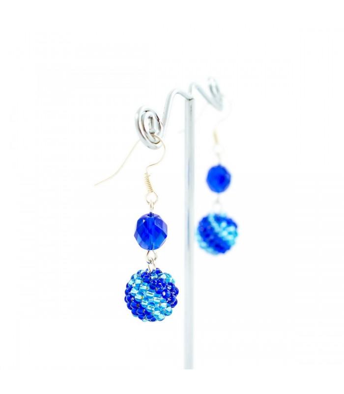 Náhrdelník Korálky Janka široký tyrkysový NR125, Délka náhrdelníku 40cm