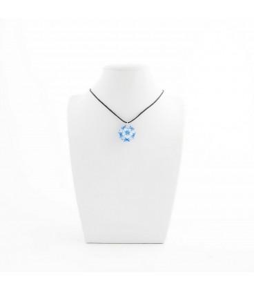 Korálky Janka náhrdelník světle modrá kulička