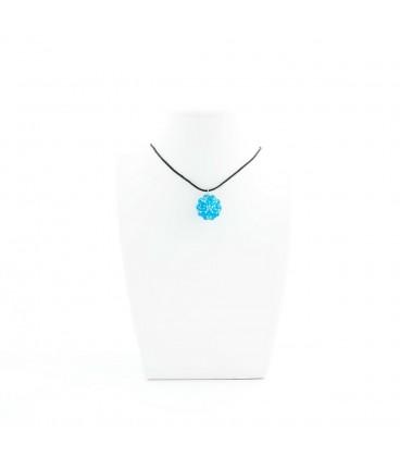 Korálky Janka náhrdelník tyrkysová kulička