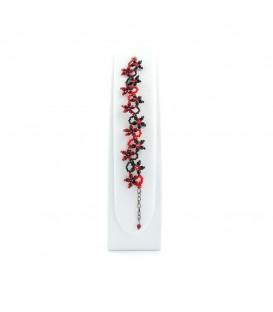 Souprava šperků Korálky Janka orchidej